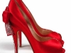 kirmizi-bayan-ayakkabisi