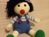 el örgüsü oyuncak bebek